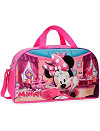 Disney Minnie Strawberry Sac de Voyage, 44 cm, 24.2 L, Rose