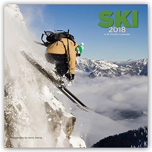 Descargar Libro Ski - Skifahren 2018 - 16-Monatskalender: Original BrownTrout/Wyman Publishing-Kalender de Wyman