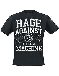 Rage Against The Machine College T-Shirt schwarz XL