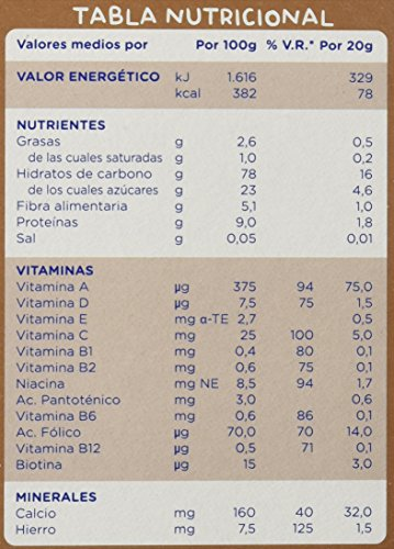 Hero Babynatur - Cereales Con Galleta Maria - 500 g