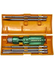 Taparia 812 Screw Driver Set with Neon Bulb