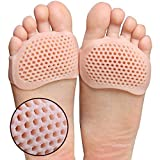 VOETEX ZONETM 2 Pieces Metatarsal Ball of Foot Cushion Forefoot Pads