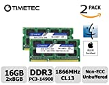 Best Motherboard Manufacturer - Timetec Apple RAM 16GB Kit 2x8GB DDR3 1866MHz Review