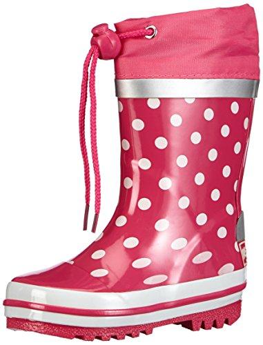Playshoes Gummistiefel Punkte 181767, Mädchen Gummistiefel, Pink (pink 18), EU 20/21
