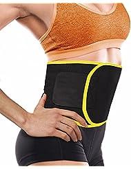 aptoco cintura Trimmer ajustable cinturón para adelgazar acelera la pérdida de peso y AB tonificar deporte reducción cinturón para hombres y mujeres