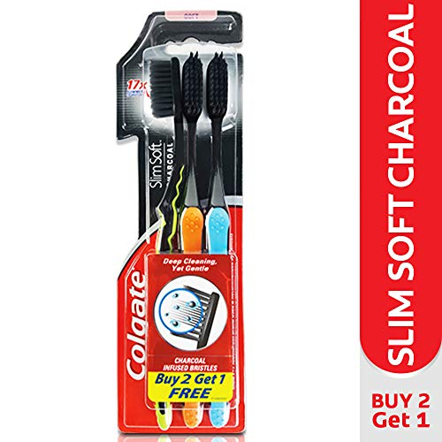 Colgate Slim Soft Charcoal Toothbrush