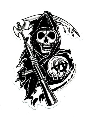 Sons Of Anarchy Reaper Autocollant