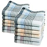 12 pañuelos de caballero - Modelo 'Gaspard' - 40 centimetros