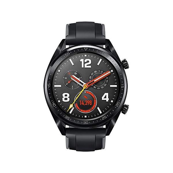 Huawei Watch GT Sport - Reloj (TruSleep, GPS, monitoreo del ritmo cardiaco), Negro 2