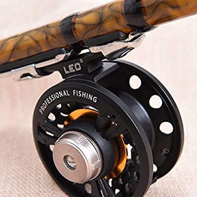 TENGGO Metal Fly Fishing Reel Interchangeable Front-end Fishing Raft Wheel by TENGGO