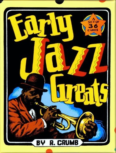 Early Jazz Greats Boxed Trading Card Set by R. Crumb by Robert Crumb (2004-11-01)