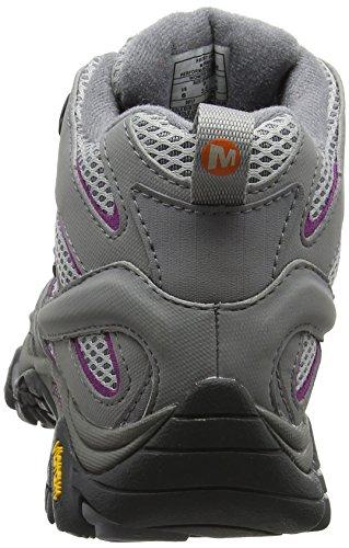 Merrell Moab 2 Mid GTX, Stivali da Escursionismo Alti Donna Grigio (Frost Grey)