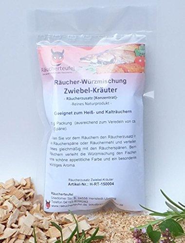Räucherteufel Räucher-Würzmischung Zwiebel-Kräuter (Konzentrat) 100g, Räucherzusatz