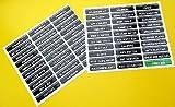 WERKZEUGBOX WERKZEUGKOFFER Schublade ETIKETT sticker aufkleber Erkennen werkstatt werkzeuge 2 SHEETS