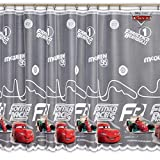 Disney Voile Netz Vorhang New Cars–165Breite cm x Drop 155cm