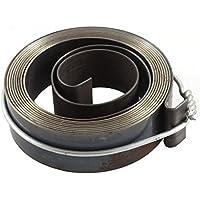sourcingmap® 16 mm x 0,7 mm 1,800 mm de longitud prensa de taladro Pluma alimentación de retorno Conjunto de muelles helicoidales