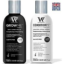 Crecimiento del Cabello Champú y Acondicionador por Watermans–Combo Pack–mejor sistema de crecimiento del cabello