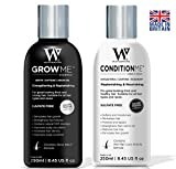 Hair Growth Shampoo and Conditioner by Watermans - Combo Pack - Can reduce hair loss