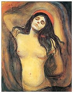 Munch Madonna 1894 1895 Panel Decorativo 50x63 cm