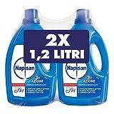 Napisan Additivo Igienizzante Liquido per Bucato, 2 confezioni da 1.2 litri