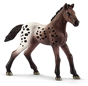 Schleich Potro Appaloosa, Color marrón, Blanco (13862)