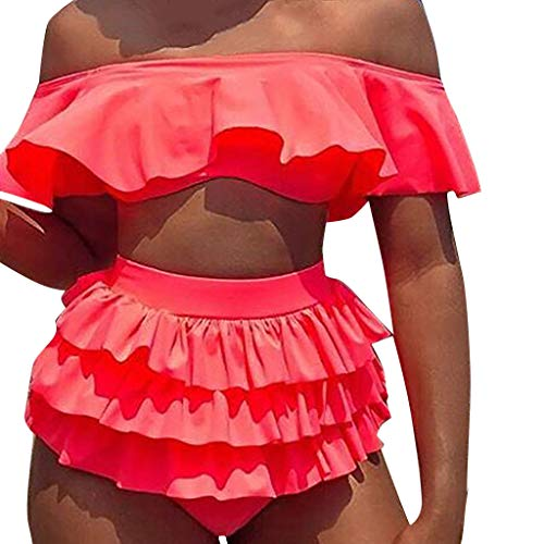 Kostüm Frau Alt Baby - Badeanzug-Bikini-Frau Push-up-BH Bikini aufgefüllte Sommerbadebekleidung Tops und Streifen-Badeanzug Sexy Badeanzug-Bikini-Set Bade Swimwear Sommer-Fashion Tops und Stripes swimsuit swimanzug swimwear