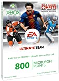Xbox Live EA Sport Ultimate Team Branded 800 Points (Xbox 360)