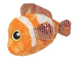 Aurora- YooHoo Pez Payaso de Ojos Brillantes, 20 cm, Color Naranja (0060060513)