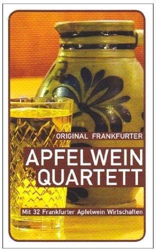 Apfelwein-Quartett: 32 Frankfurter Apfelweinwirtschaften im Vergleich