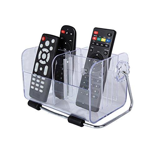 Discoball® Fashion Design Acrylic Desktop Remote Control Holder Mobile Phone Storage Box Desk Accessories Tidy Organizer Mini Cosmetics Storage Container by discoball