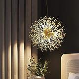 Delle Made Sputnik lampadario a sospensione 8luce di Golden luxurioese lampada per camera da letto, soggiorno, sala da pranzo
