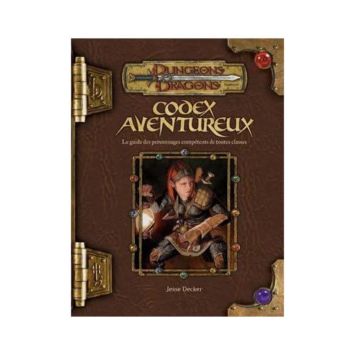 Dungeons & dragons. Codex aventureux