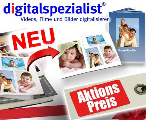 """Gutschein """"Ihr Fotoalbum als Fotobuch"""" - Ihr Fotoalbum kopiert und gedruckt als XXL-Fotobuch"""