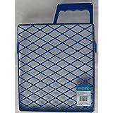 farbabs treifer rejilla pintar Arrastre Azul de plástico, 25x 22cm, 1pieza, 50109