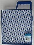 Farbabstreifer Gitter Malen Streichen aus blauem Kunststoff