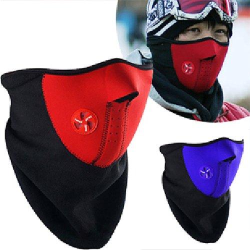 Per bicicletta Inverno Sci Snowboard collo fronte caldo maschera Veil Guardia