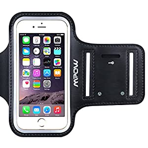 iPhone 6/6s Armband, Mpow® Ultra Soft Adjustable Sports Armband Pouch Running Phone Holder for iPhone 6 / iPhone 6s (4.7 inch) for Jogging, Gym, Cycling, Biking, Hiking, Horseback Riding and other Sports