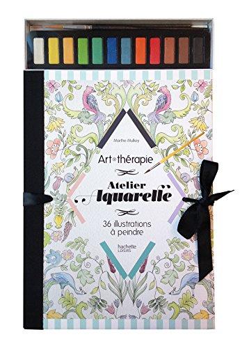 Atelier aquarelle : 36 illustrations à peindre par From Hachette Pratique