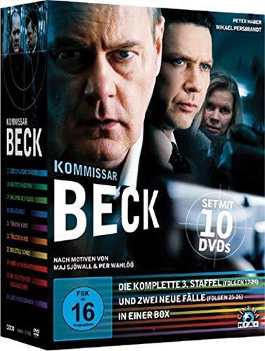 Kommissar Beck - Die komplette 3. Staffel + zwei neue Fälle [10 DVDs] (Beck Dvd)