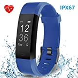 Best Calorie Trackers - HolyHigh Smart Band with Fitness Tracker Heart Rate Review