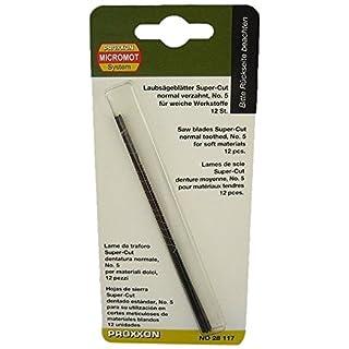 Proxxon 28117 Super-Cut Scroll Saw Blades, Standard