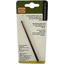 PROXXON 28117 Super-Cut Laubsägeblätter normal verzahnt ohne Querstift 12 Stück