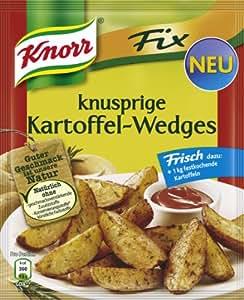 Knorr Fix Kartoffel-Wedges 37g Beutel, 23er Pack (23 x 37 g)