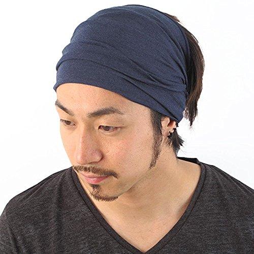 gamme exceptionnelle de styles et de couleurs style distinctif une performance supérieure Casualbox Homme Élastique Bandana Bandeau Japonais Longue Cheveux Dreads  Tête Enrouler Mix Marine