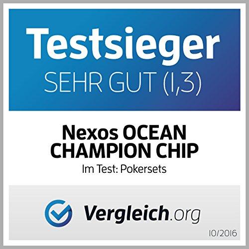 Nexos Pokerkoffer Pokerset 500 Laser Po...