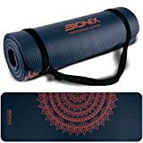 Bionix Printed Yoga Mat | Foam Thick NBR Roll with Non Slip Surface