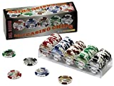 Dal Negro 02580 - 100 Casino Chips, 43 mm, 15.5 gr, Valore 20 - 500