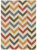 Benuta Wollteppich Windsor, Wolle, Multicolor, 80 x 150.0 x 2 cm