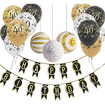 9ft heureux Anniversaire Foil Bannière Argent Décorations Fête Anniversaire