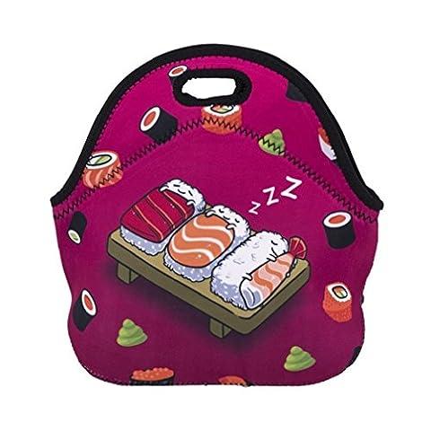 Flyfish Neoprene Insulated Lunch Bag Waterproof Personalized Insulated Lunch Bags Picnic Lunch Food Handbag